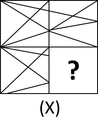 Image of The Pattern of Square For Question