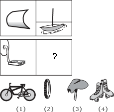 Solve This Abstract Reasoning Analogy on Pedal