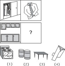 Solve This Abstract Reasoning Analogy on Cabinet