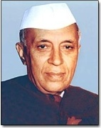 Image display is Jawaharlal Nehru