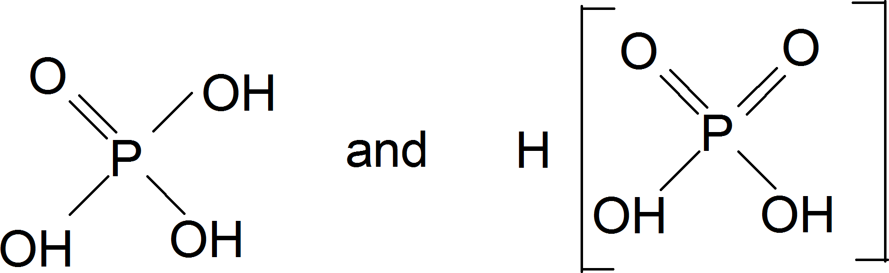 Two tautomeric forms of phosphorous acid : Choice D