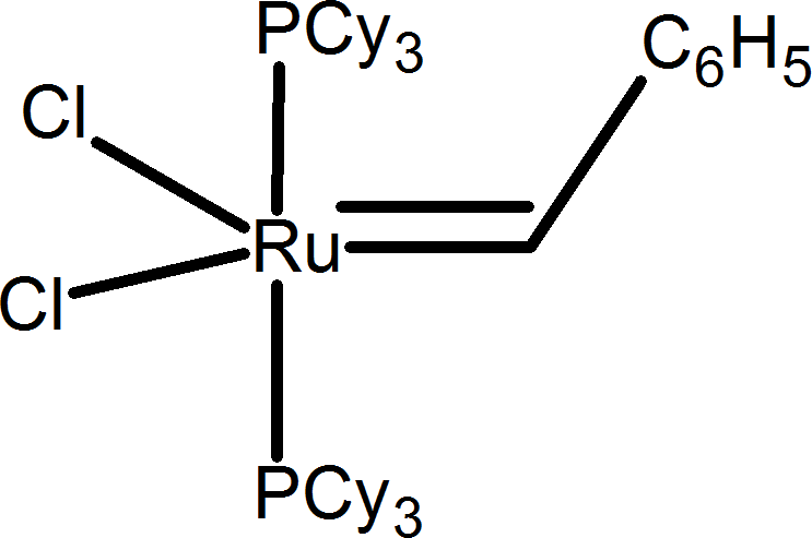 Catalyst involved in carrying out metathesis – Choice A