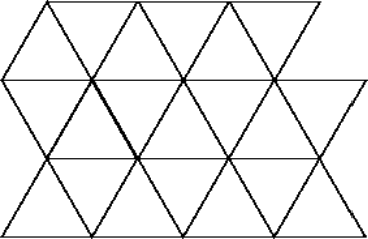 A part of two-dimensional lattice