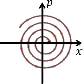 The phase space diagram: Choice D