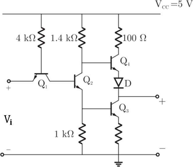 Circuit Diagram Of Not Gate | Gate Graduate Aptitude Test In Engineering Electronics