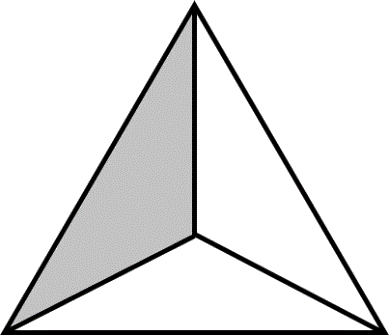 Image shows shaded fraction area For Choice C