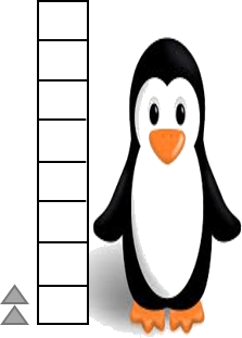 This picture shows the length of penguin