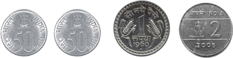 This image of coins shows the sets – Choice A
