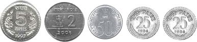 This image of coins shows the sets – Choice D