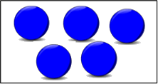 This diagram shows the box in balls – Choice A