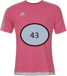 This image shows that the T – shirts with the number – Choice A
