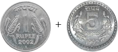 This image shown the addition of coins – Choice A
