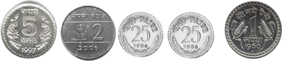 These coins defines the set of coins – choice B