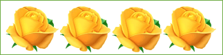 This figure shows yellow roses