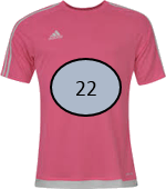 This image shows that the T – shirts with the number – Choice C