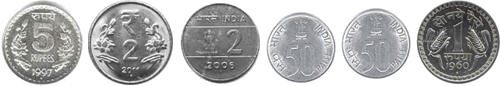 These coins defines the set of coins – choice D