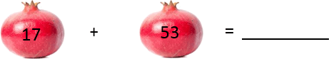 This figure shows the addition of pomegranate