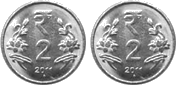 This image shown the set of coins – Choice C