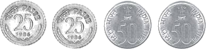 This image shown the set of coins – Choice D