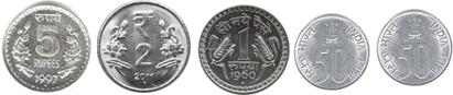 These coins defines the set of coins – choice C