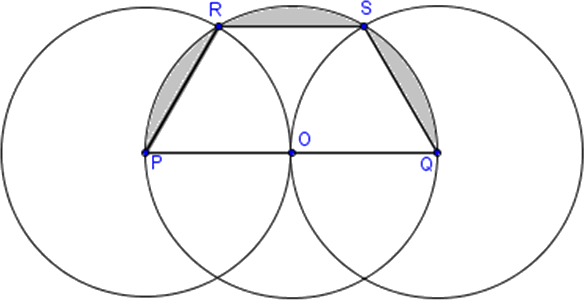 Image of trapezoid and semi-circle