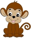 This image shows the monkey carton