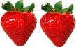 In this image shows the fruit of strawberries – Choice A