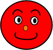 This image shows the face of red smiley – Choice D