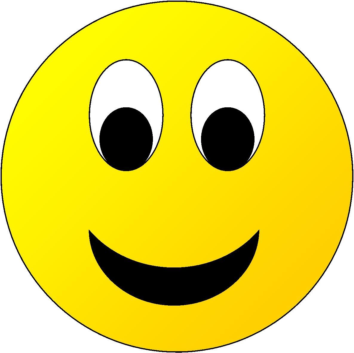 This image shows the yellow face of smiley – Choice C