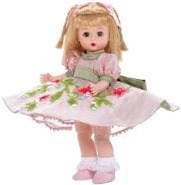 This image shows the doll