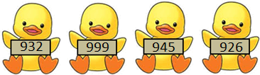 This figure shows the number in duck