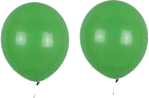 This image shows the two balloons