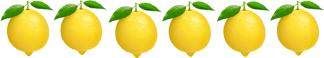 This image shows the six lemons