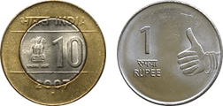Image shows the Pair of coins Choice- A