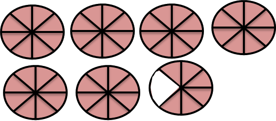 Image shows circle with shaded and unshaded part Choice - B
