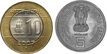 Pair of coins is given in image Choice- B