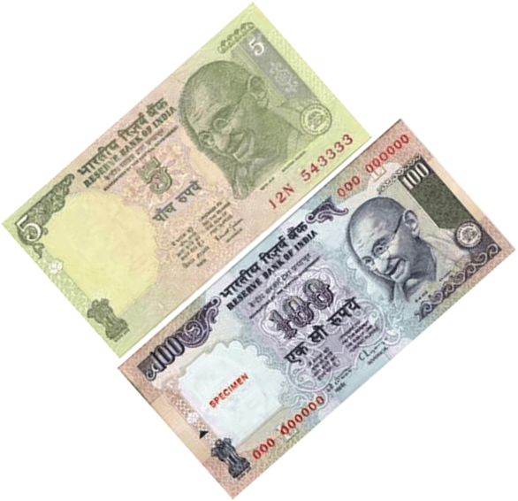 Some notes of rupees are given in image Choice - B