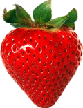 Image shows the strawberry