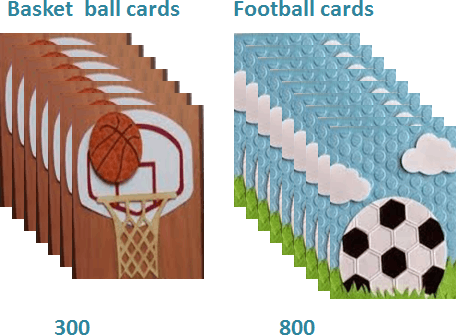 Image of ball cards
