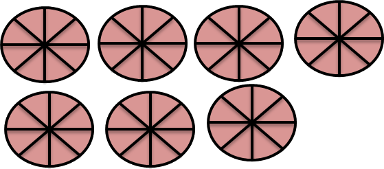 Image shows circle with shaded and unshaded part Choice - D