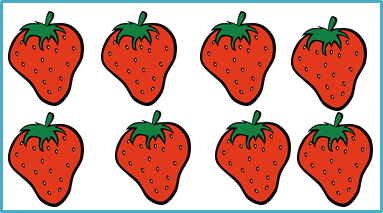 Image shows box of strawberry