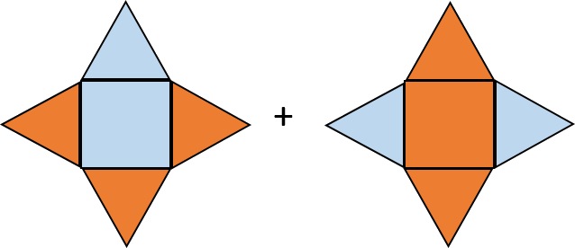 Image with orange color – find fractions
