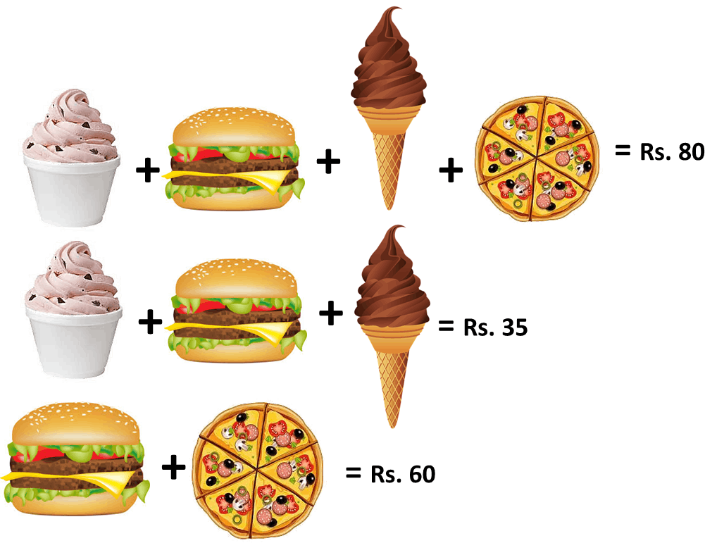 Different snacks are given in image