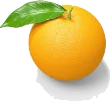 An orange is given in the image