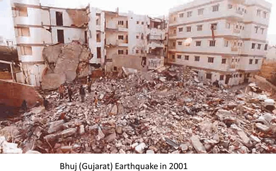 Image Of The Earthquake In Bhuj