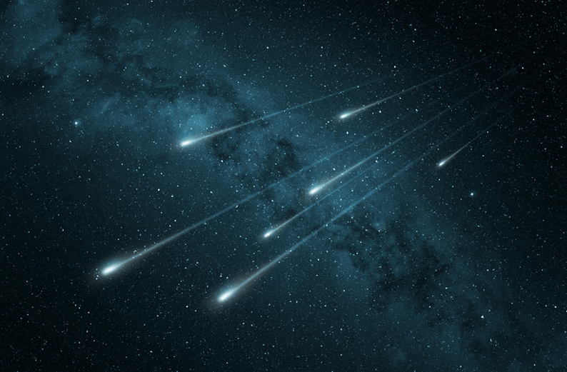 Image of The Meteor Shower