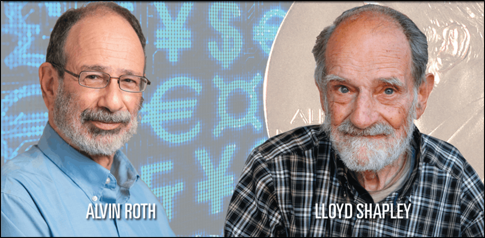 Image Of The Alvin Roth & Lloyd Shapley