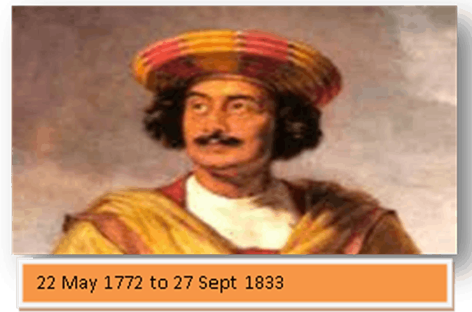 Image Of The Raja Ram Mohan Roy