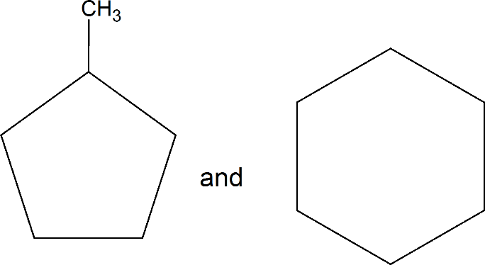 Different pairs of isomers: Choice D