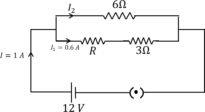 An electric circuit consists of combination of resistors